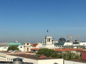 Sicht auf das Zentrum von Berlin